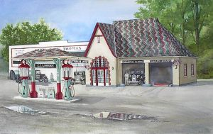 1928 Gas Station