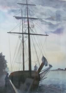 at Dieppe Dock in Windsor